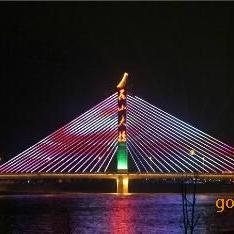 LED护栏管六段 外控数码六段护栏灯轮廓灯造型灯 厂家批发