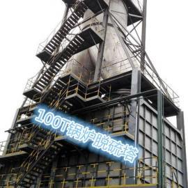 100T锅炉脱硫塔