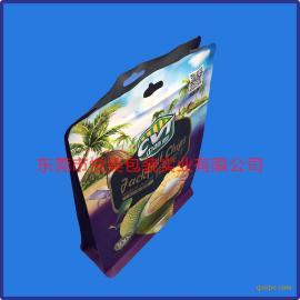 八边封袋厂家 樱桃八边封袋定制 UV印刷复合袋