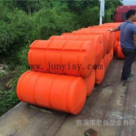 青岛直径600*1200聚乙烯浮筒价格 海上浮漂