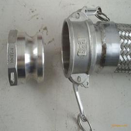 扳把式快速接头不锈钢金属软管DN50mm