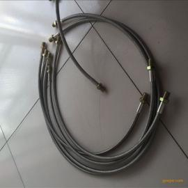 聚四氟乙烯特氟龙管 铁氟龙软管304不锈钢编织外层 厂家直销