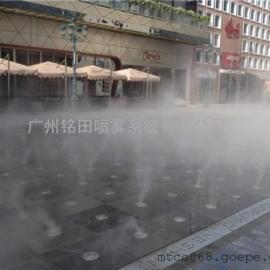 加油站喷雾降温系统、微雾降温,加油站屋顶喷淋降温价格