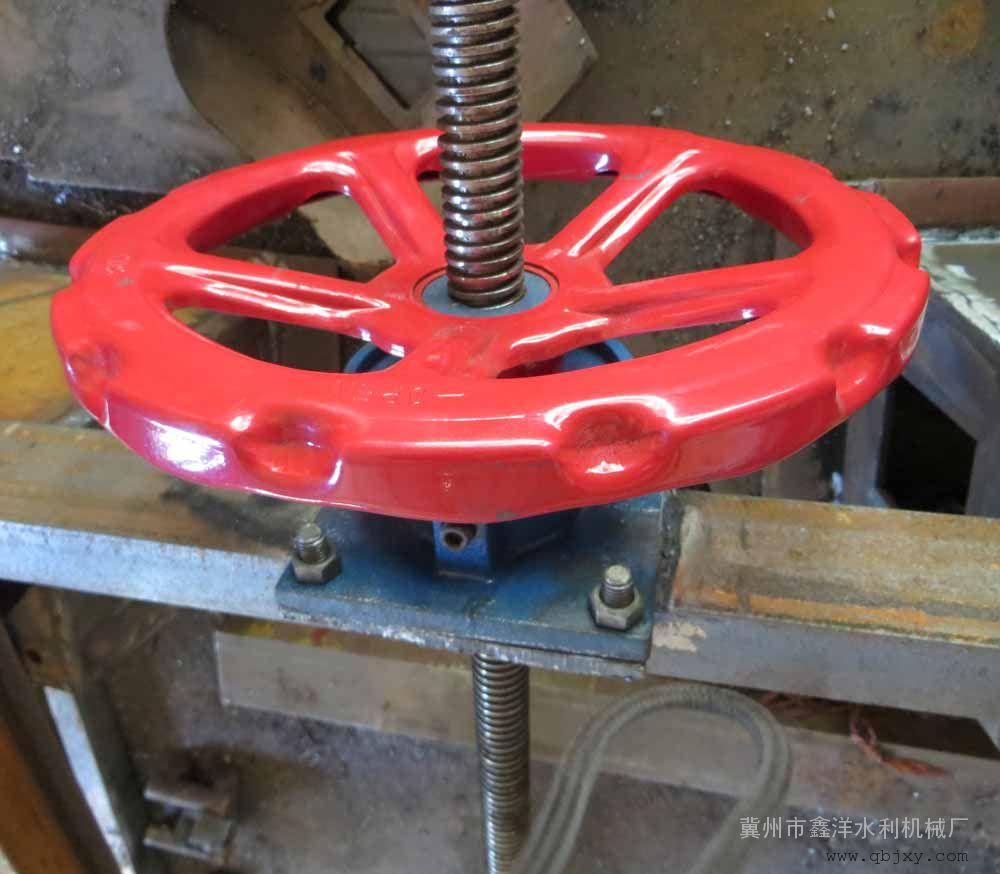 1吨启闭机螺杆启闭机手轮启闭机手动启闭机