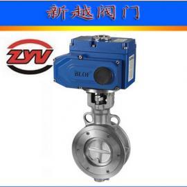 供应 D973W 多层次不锈钢电动对夹蝶阀
