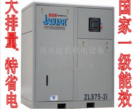 台湾捷豹空压机永磁变频二级压缩大排量超节能