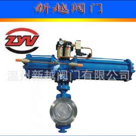 D671X气动软密封蝶阀、气动衬氟对夹蝶阀、橡胶对夹蝶阀