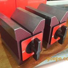 长春磁性V型铁,沈阳磁性三角台100*50*150