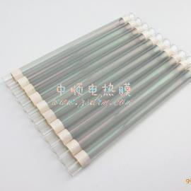 镀膜石英玻璃发热管 纳米石英晶体管加热管 非金属石英发热管