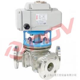 上海Y型135°电动三通球阀