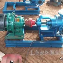 上海安怀NYP铸铁高压高粘度内环式转子泵高粘度液体专用泵