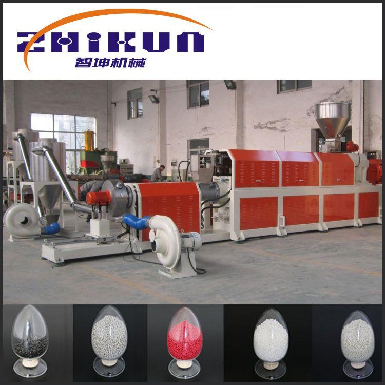 ABS双螺杆造粒机|双螺杆挤出机|智坤造粒机-塑料造粒机