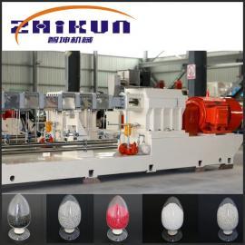 TPU双螺杆造粒机|TPE双螺杆挤出机|南京塑料造粒机