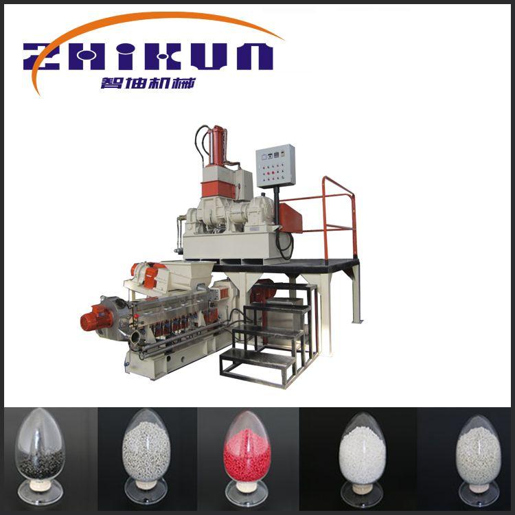 南京智坤机械热销双螺杆色母粒填充母粒造粒机