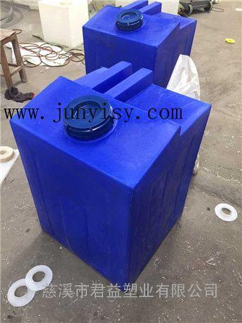 配套机械方形塑料箱价格 方形PE耐酸耐碱桶批发