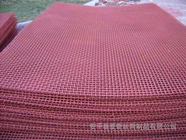 张掖锰钢筛网矿筛网-聚氨酯筛网报价-65锰钢筛网冲孔网