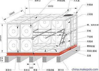 渭南304不锈钢水箱专家