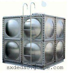 渭南圆形不锈钢保温水箱