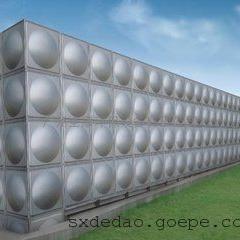 宝鸡圆形水箱厂家,不锈钢拼接水箱订做