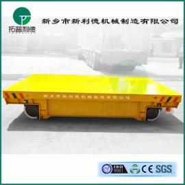 仓储物流设备仓储物流36v单相地轨电动转盘平板车火车牵引机