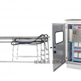 优威厂家生产明渠式紫外线消毒器/框架式污水处理厂设备