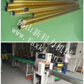 江苏淋浴房铝型材包装机,工业铝型材产品包装机