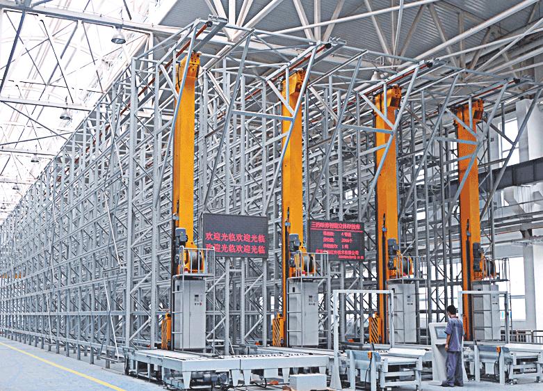 穿梭式货架设计_南京海佩仓储设备有限公司