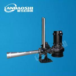 沉水式曝气机 曝气器 潜水射流曝气机工作原理