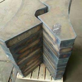 中温高压焊管用钢45mmASTMA672GrD80舞钢