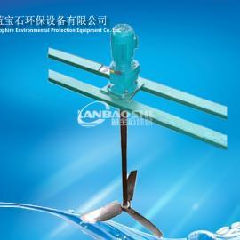 安装调试注意桨式搅拌机双叶桨搅拌机 絮凝加药混合搅拌