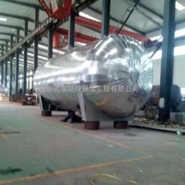 管道岩棉不锈钢保温防腐工程 铁皮保温工程施工队