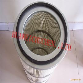 供应喷砂机除锈机3266 3566聚酯长纤维除尘滤筒 粉尘滤芯