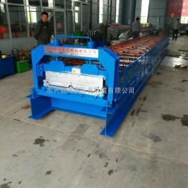 浩鑫供应760型暗扣角驰压瓦机屋面板成型设备