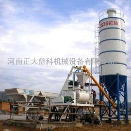 正大鼎科机械厂家直销35型混泥土搅拌站和技术培训服务