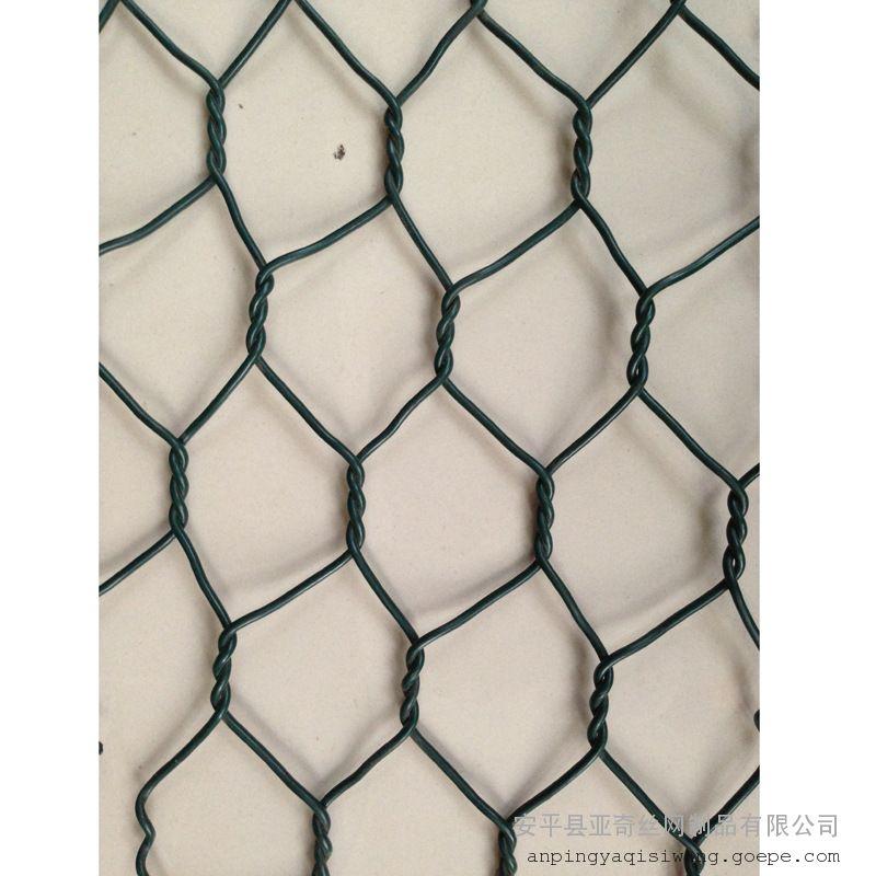 宣威镀锌8×10CM镀锌六角网厂家供应/丽江编织石笼网箱