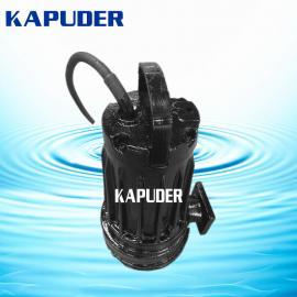 南京凯普德专业生产WQ/QW型无堵塞排污泵 污泥提升泵