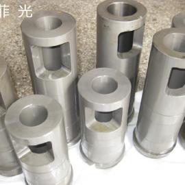 �冢镁合金压铸机料壶鹅颈 熔料锅配件