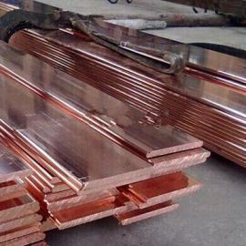 厂家直销铜包钢扁钢铜层厚度多种规格