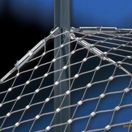 长春市304不锈钢钢丝绳网生产厂家@不锈钢卡扣网图片