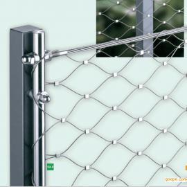 河北石家庄不锈钢绳网生产厂家@不锈钢卡扣网图片@304不锈钢绳网