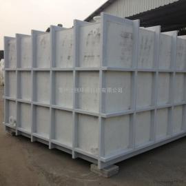 定做PP运输槽塑料车载水箱PP化工槽