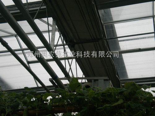 连栋温室外遮阳拉幕系统