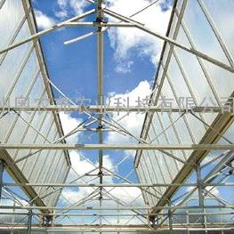 温室顶开窗自然通风系统