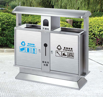 垃圾桶/南京垃圾桶厂家/不锈钢垃圾桶SDF-010