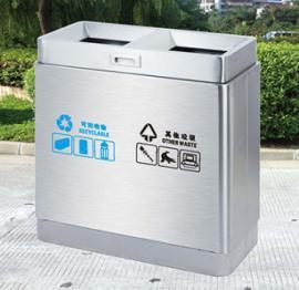 垃圾桶/南京垃圾桶厂家/不锈钢垃圾桶SDF-011
