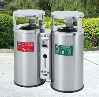 垃圾桶/南京垃圾桶厂家/不锈钢垃圾桶SDF-012