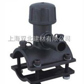 上海厂家直销HDPE电熔管件 给水管燃气通用旁通鞍型