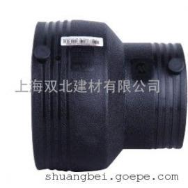 HDPE电熔异径直通 电熔排水管件厂家