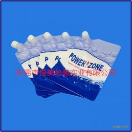 吸嘴袋厂家 清洁水吸嘴自立袋定制 凹印复合袋
