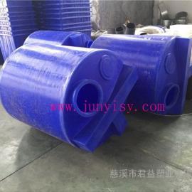 化工PE搅拌罐3吨塑料搅拌桶PE加药箱搅拌容器